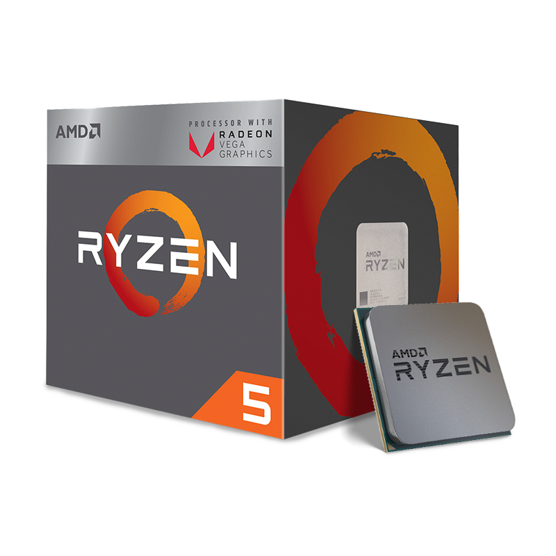 Procesador AMD Ryzen 5 3400G AM4